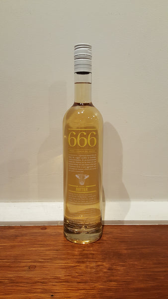 666 Butter Vodka