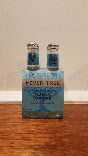Fever Tree - Mediterranean Tonic Water 4pack