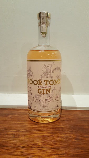 Poor Toms - Strawberry Gin