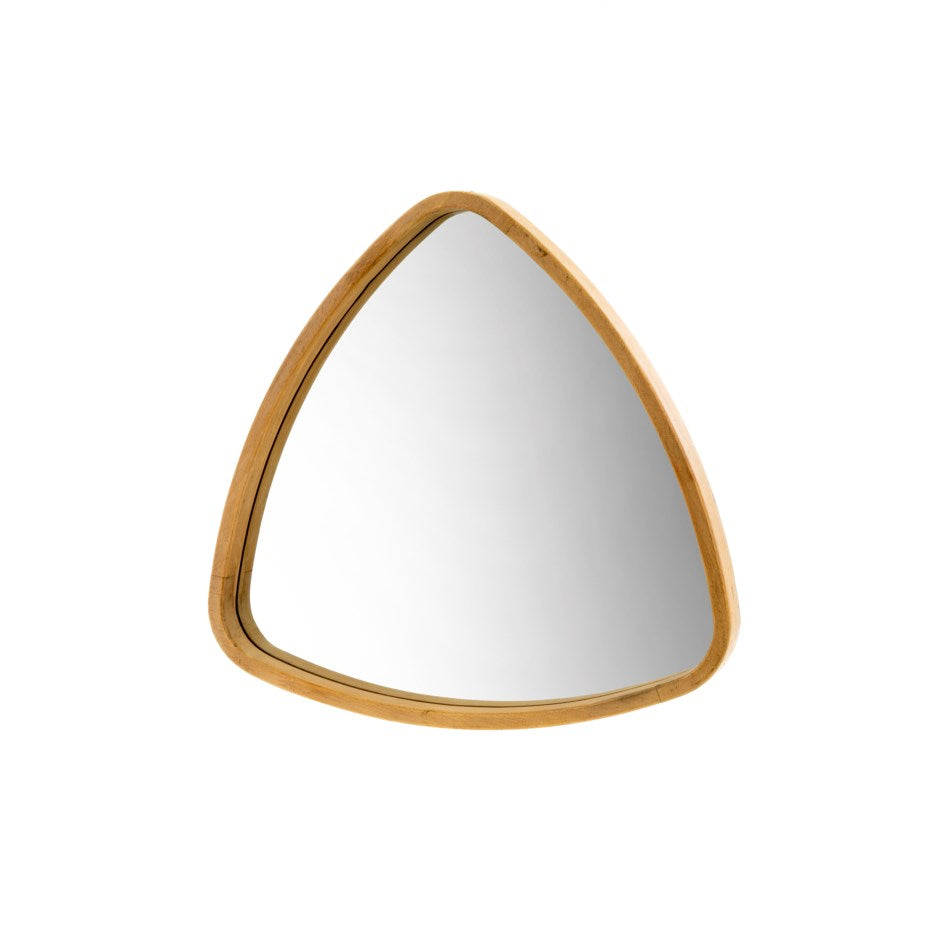 Boomerang Oak Mirror | Small