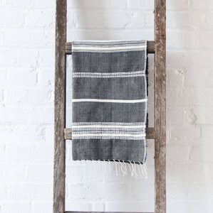 Aden Hand Towel | Grey