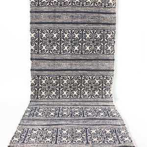 Boho Table Runner | Navy