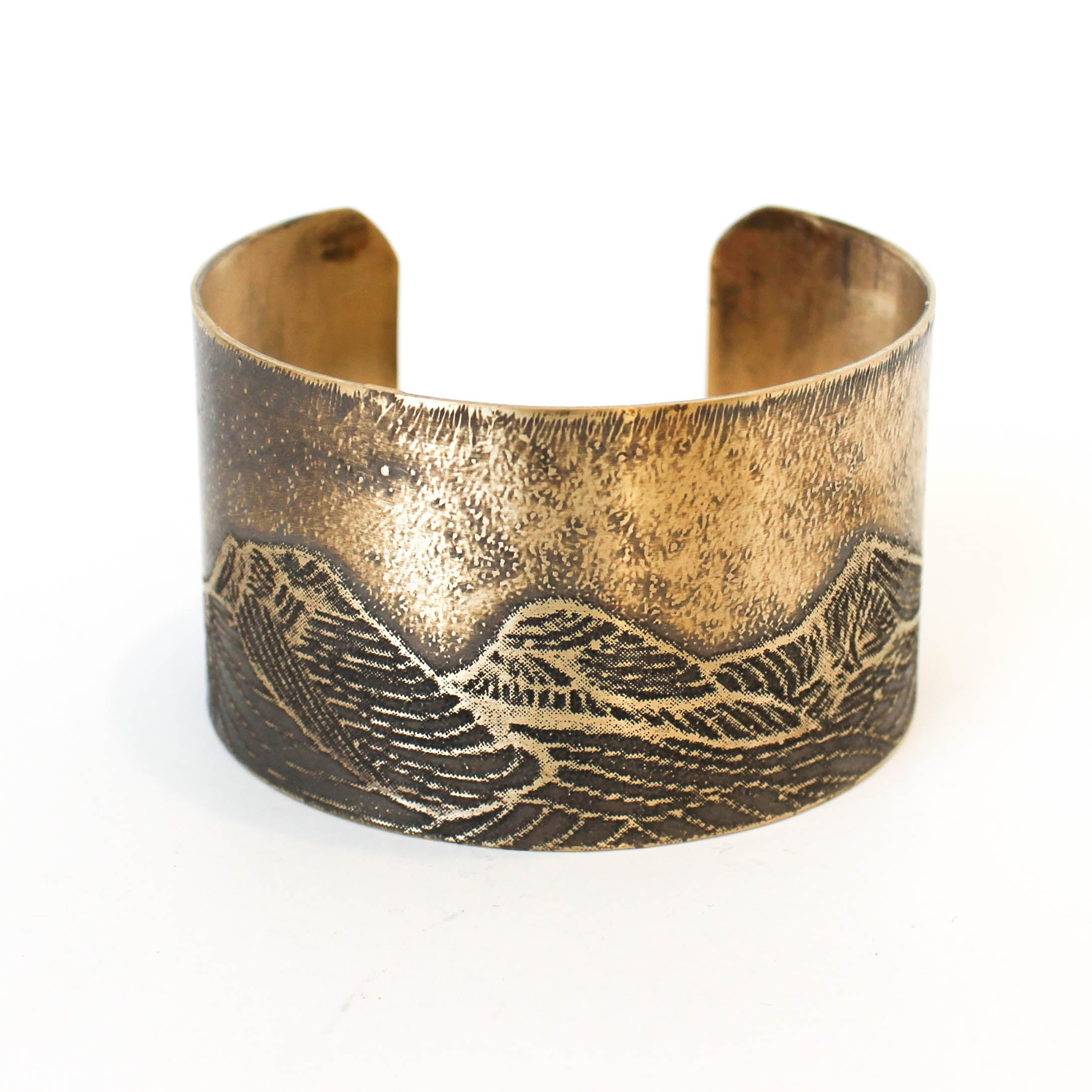 Three Sisters Wide Cuff