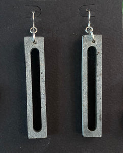 Cement Earrings