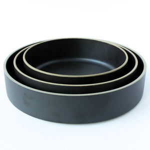 Black Japanese Porcelain Bowls