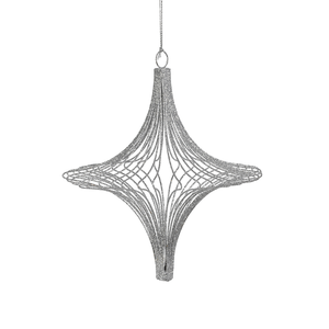 Turnip Ornament | Silver