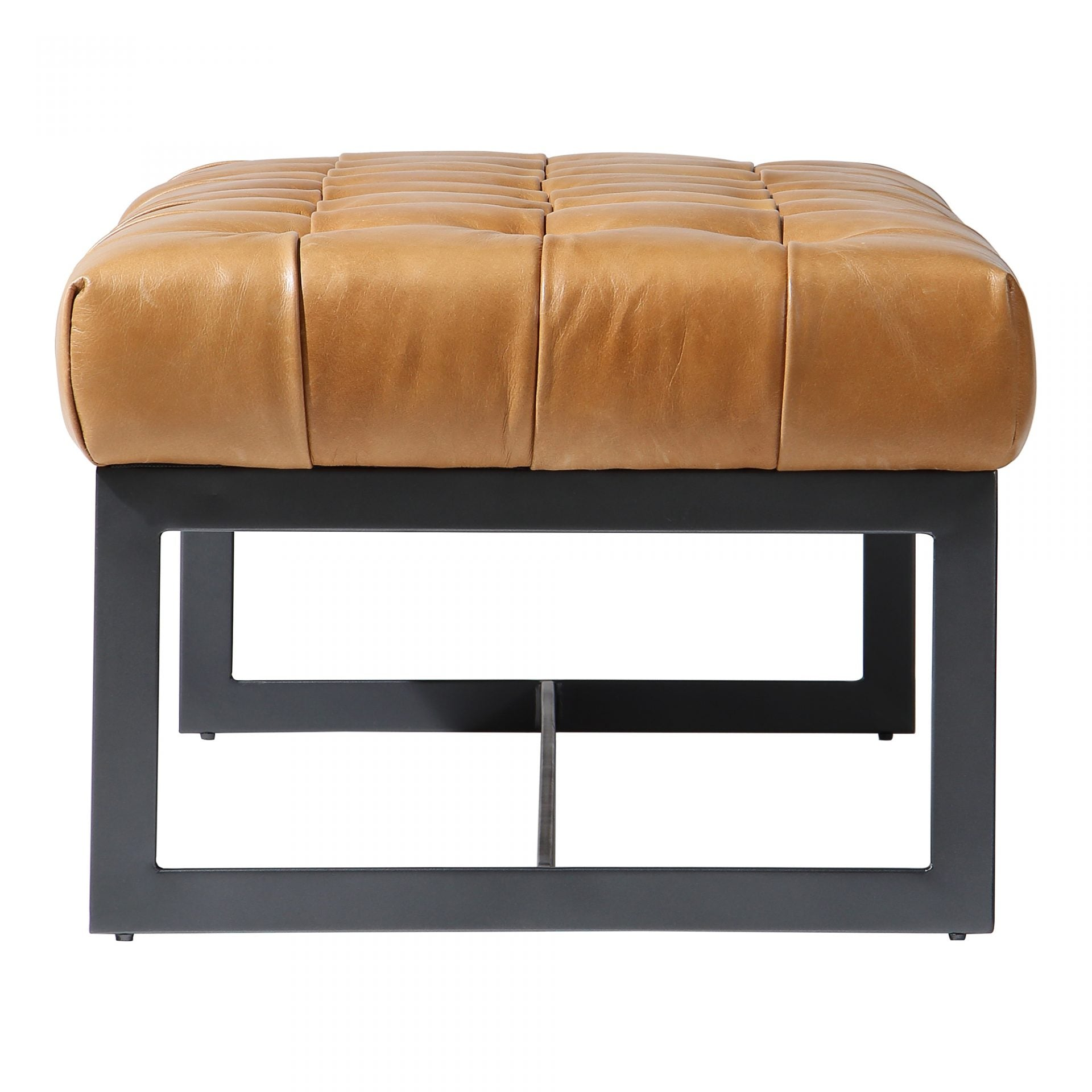 Wyatt Leather Bench