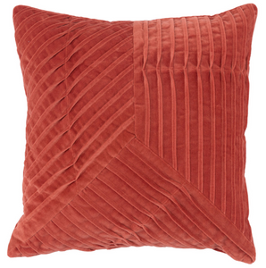 Renee Persimmon Pillow