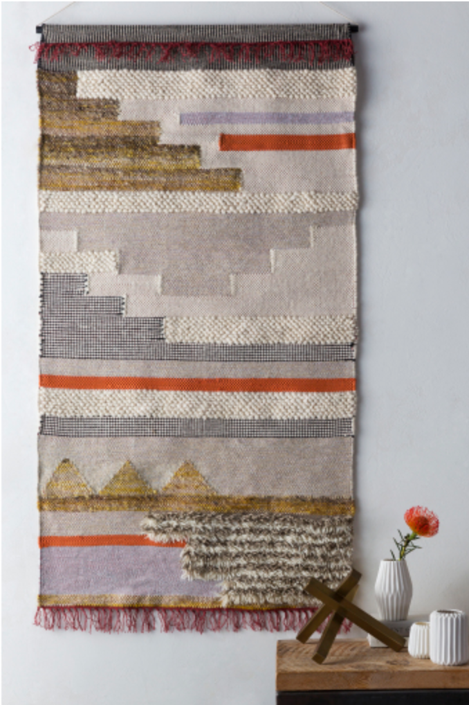 Contemporary Woven Wall Hanging