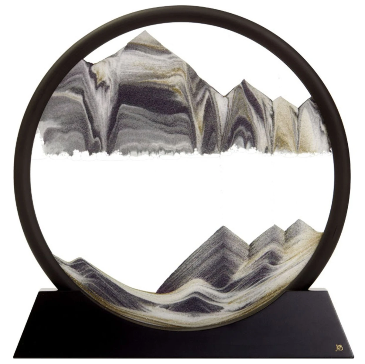 Moving Sand Mountain Art - Circle