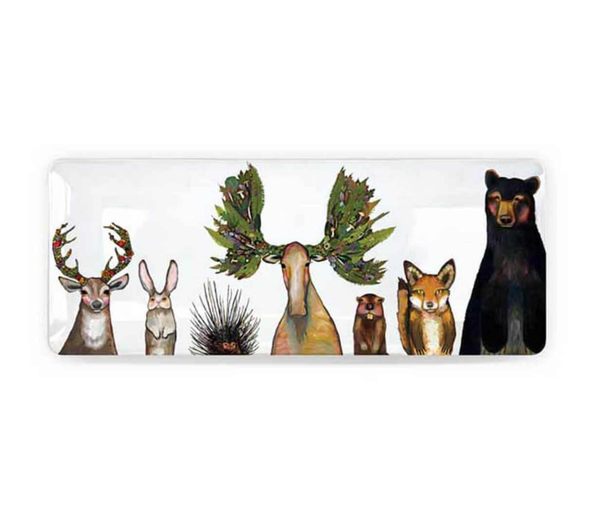 Woodland Animals Dish