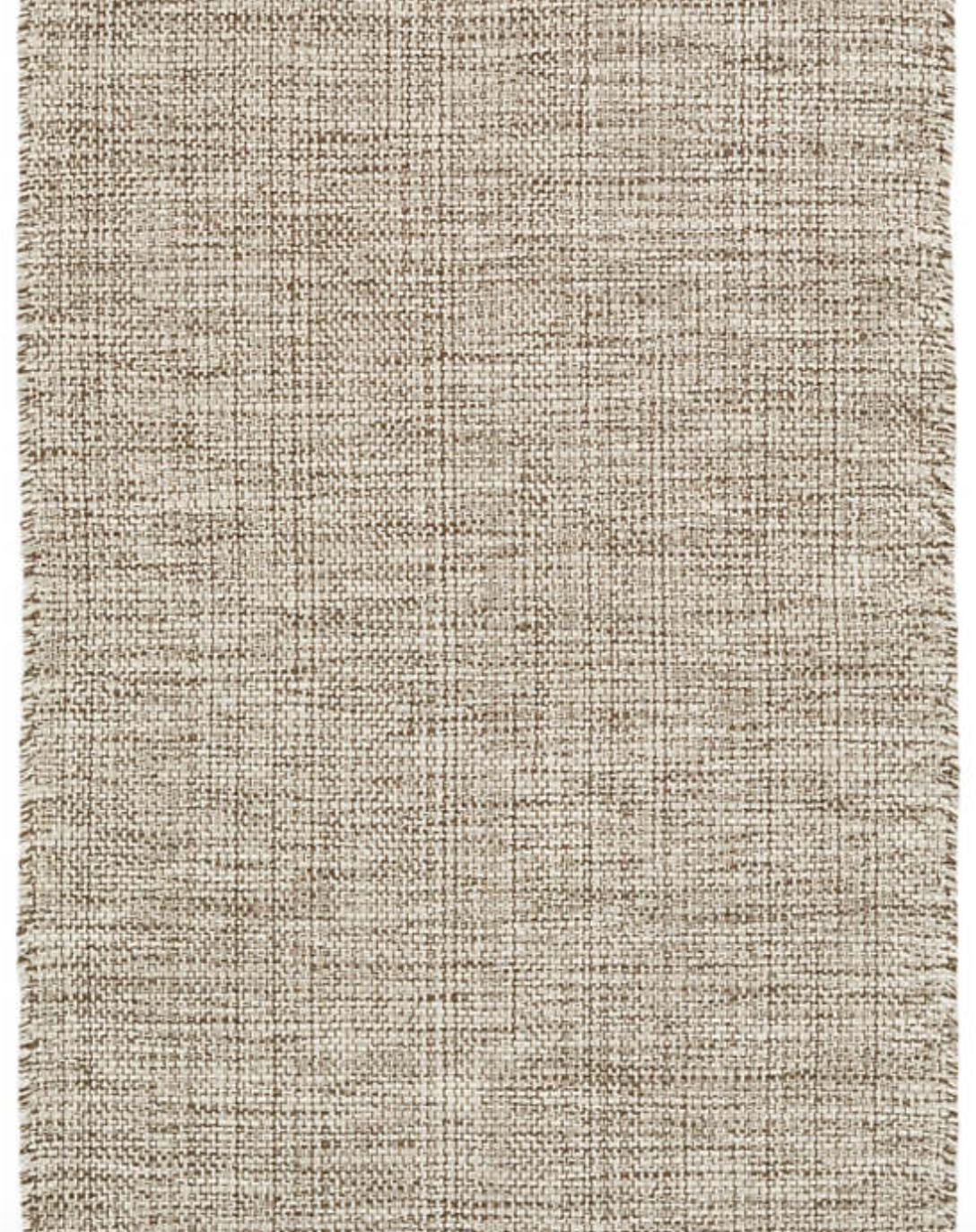 Marled Cotton Brown Rug