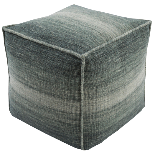 Wool Ombre Pouf