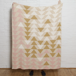 Up & Down Throw | Blush
