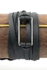 Leather Wrap Rectangle