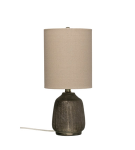 Terracotta Table Lamp - 18""