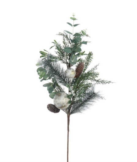 Holiday Faux Pine Branch