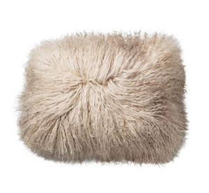 Tibetan Lamb Fur Pillow