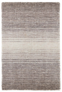 Pandora Grey Loom Knotted Rug