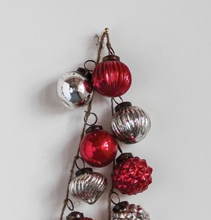 Red and Silver Garland
