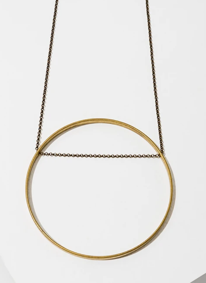 Circle Horizon Necklace