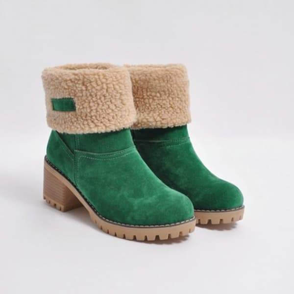 Vickymoda Winter Shoes Fur Warm Snow Boot