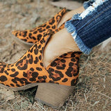 Vickymoda Cut Out Booties Ankle Heels Boots