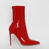 Vickymoda Sexy Bright Leather Party High Heel Boots