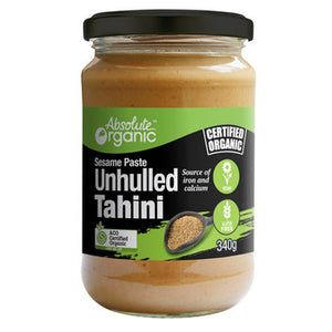 Absolute organic Tahini Unhulled 340g