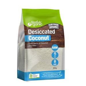 Absolute organic Coconut Desiccated 200g
