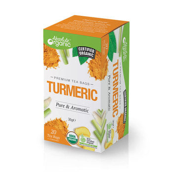 Absolute organic Tea Turmeric 20'S 36g