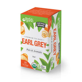 Absolute organic tea Earl Grey 20'S 36g