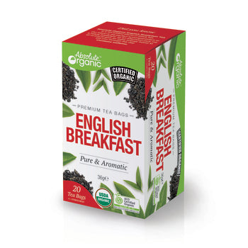 Absolute organic Tea English Breakfast 20'S 36g