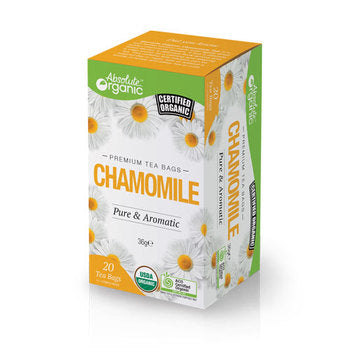 Absolute organic tea Chamomile 20'S 36g