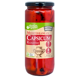 Absolute organic Capsicums Roasted 465g
