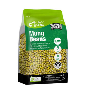 Absolute organic Mungbeans (Whole) 400g