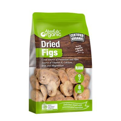 Absolute organic Dried Figs 250g