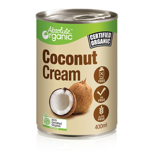 Absolute organic Cream Coconut 400ml