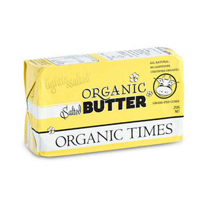 Organic Times Salted Butter 250gm