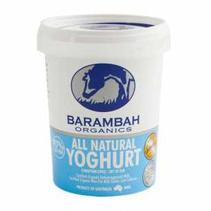 Barambah Organic Natural Yogurt 500g