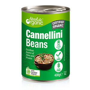 Absolute organic Beans Cannellini (Tin) 400g