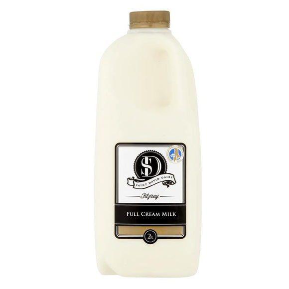 St Davids Full Cream Milk 2lt