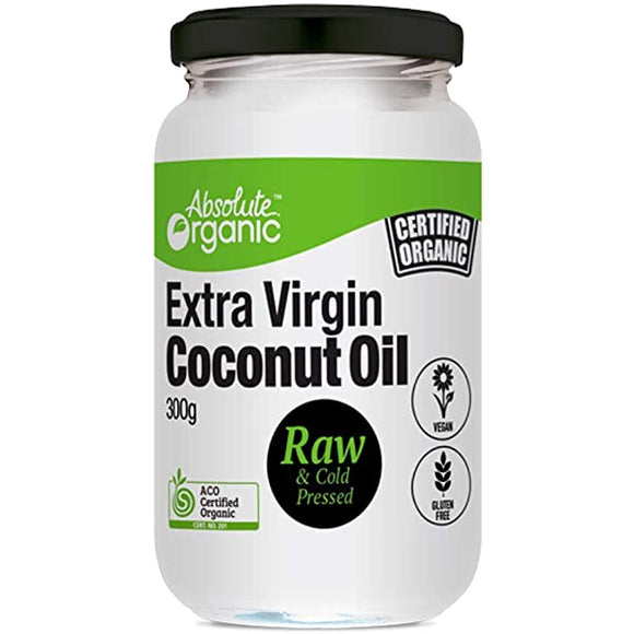 Absolute organic coconut oil 300g