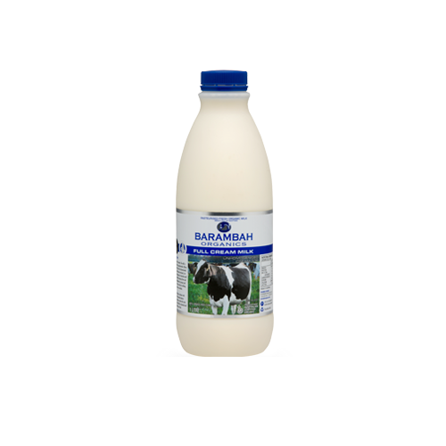 Barambah Organic Full Cream 1lt