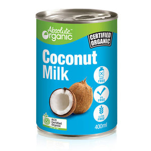 Absolute organic Milk Coconut 400ml