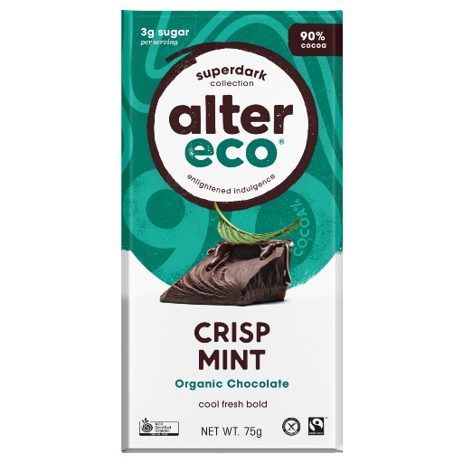 Alter Eco Crisp Mint 75g