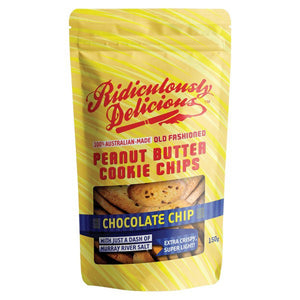 Ridiculously Delicious Peanut Butter Choco Cookie Chips 150g