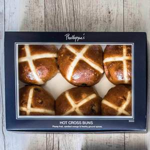 Phillippa's Hot Cross Buns(6 pack)