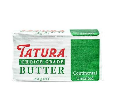 Tatura Unsalted Butter 250gm