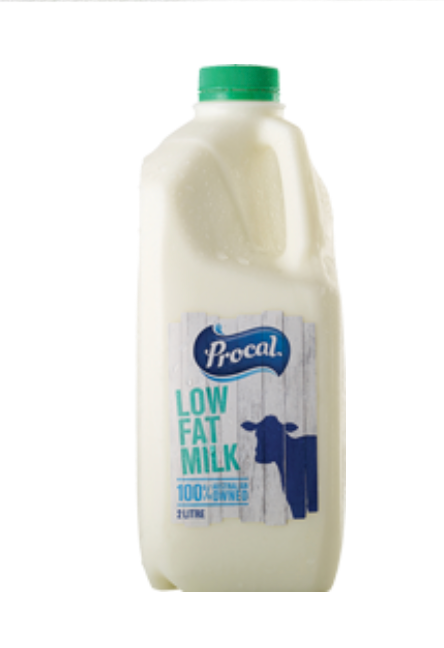 Procal Low Fat Milk 1lt